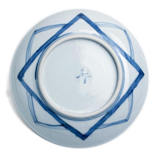 九谷焼:染付貝文5寸皿・正木春蔵《小皿・取り皿・銘々皿・14.8cm》|yobi|02