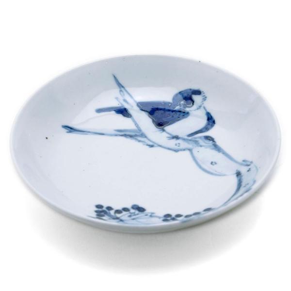染付枯木に鳥図皿・正木春蔵《小皿・15.0cm》|yobi|04