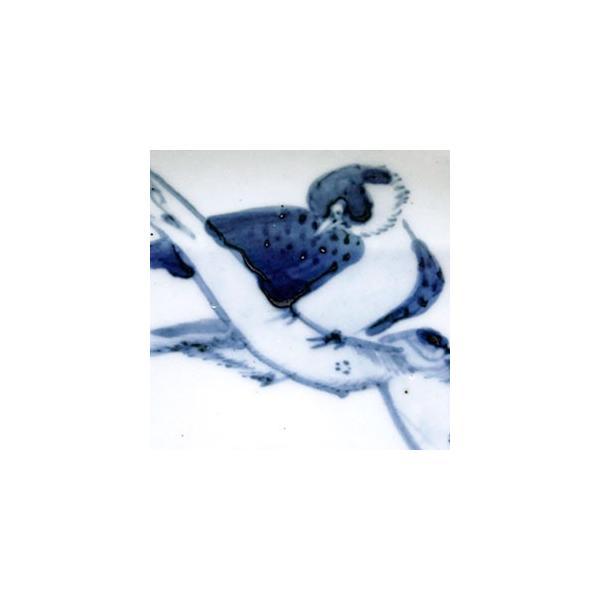 染付枯木に鳥図皿・正木春蔵《小皿・15.0cm》|yobi|06