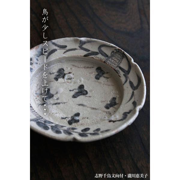 志野焼:志野千鳥文向付・瀧川恵美子《小鉢・17.3cm》|yobi|09