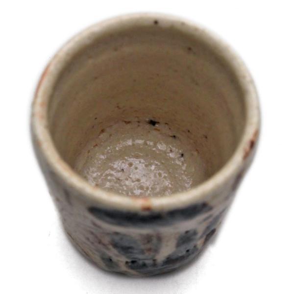 志野焼:志野菖蒲文猪口・瀧川恵美子《湯呑・筒向付・6.0cm》|yobi|03