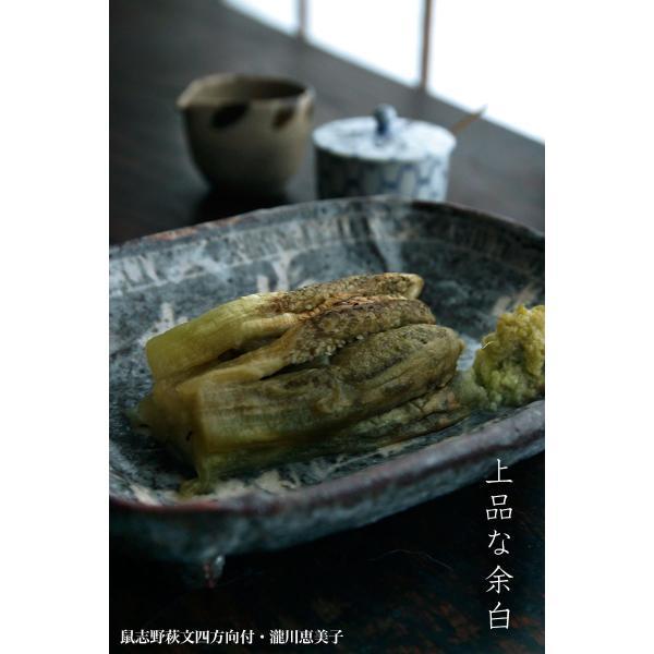 志野焼:鼠志野萩文四方向付・瀧川恵美子《小皿・17.7cm》|yobi|08