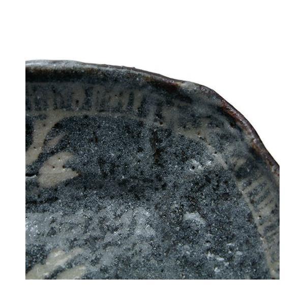 志野焼:鼠志野萩文四方向付・瀧川恵美子《小皿・17.7cm》|yobi|10