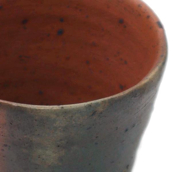 焼締め:南蛮酒盃g9406・川淵直樹《盃・7.3cm》 yobi 02