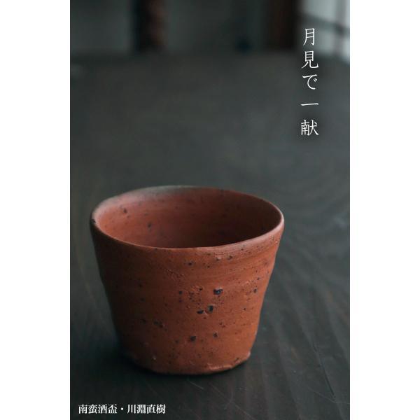 焼締め:南蛮酒盃g9406・川淵直樹《盃・7.3cm》 yobi 08