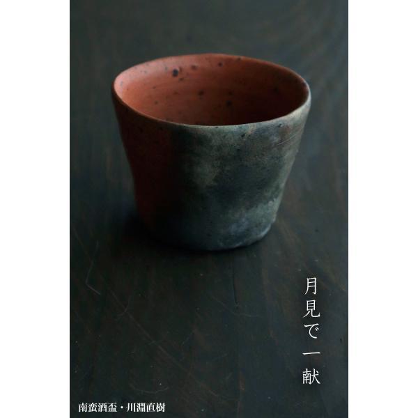 焼締め:南蛮酒盃g9406・川淵直樹《盃・7.3cm》 yobi 09