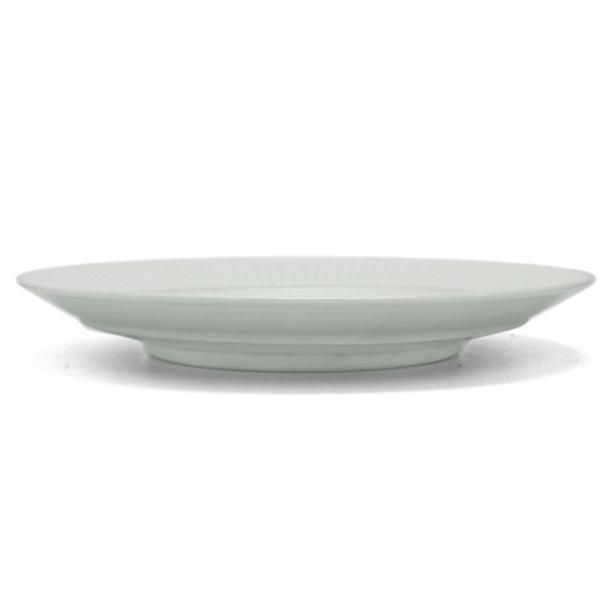 白磁:白磁しのぎ8寸リム皿・阿部春弥《大皿・24.2cm》|yobi|02