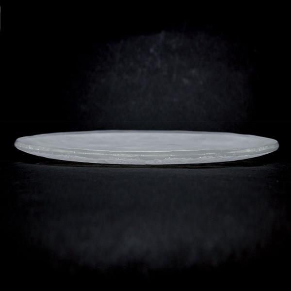ガラス:Bubble-moon透21cm.d.Tam《中皿・21.5cm》|yobi|03