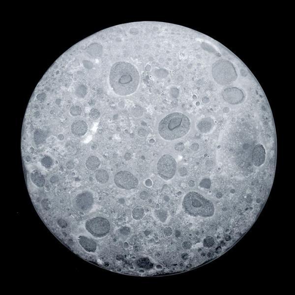 ガラス:Bubble-moon透21cm.d.Tam《中皿・21.5cm》|yobi|04