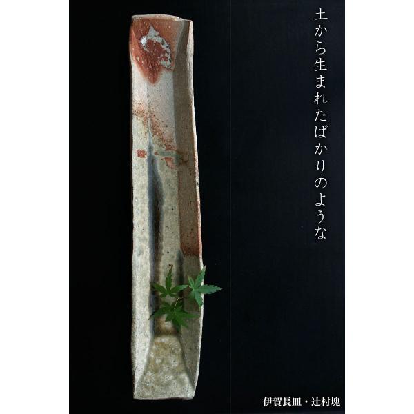 伊賀焼:伊賀長皿・辻村塊《中皿・36.3cm》|yobi|04