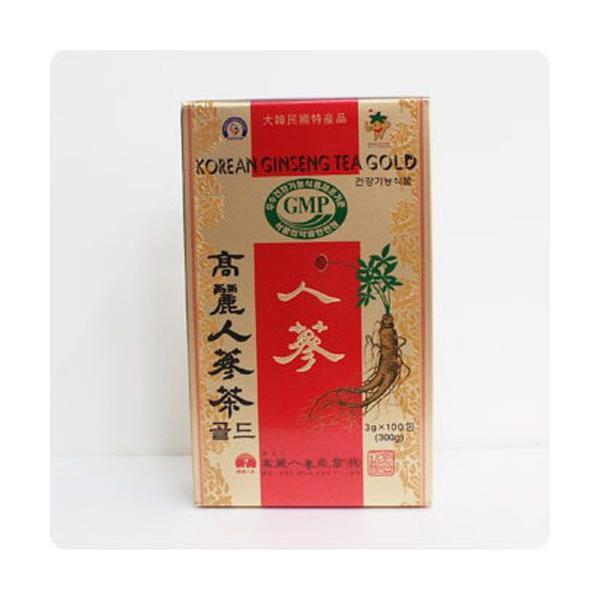 高麗・人参茶GOLD(紙)・3g×100包