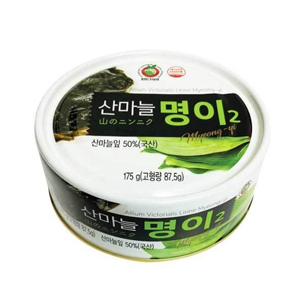 ミョンイナムル (行者にんにくの葉) 缶詰・175g