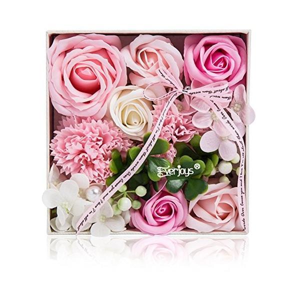 ソープフラワー 創意方形ギフトボックス 母の日 誕生日 記念日 先生の日 バレンタインデー 昇進 転居など最適としてのプレゼント|yodoya|02