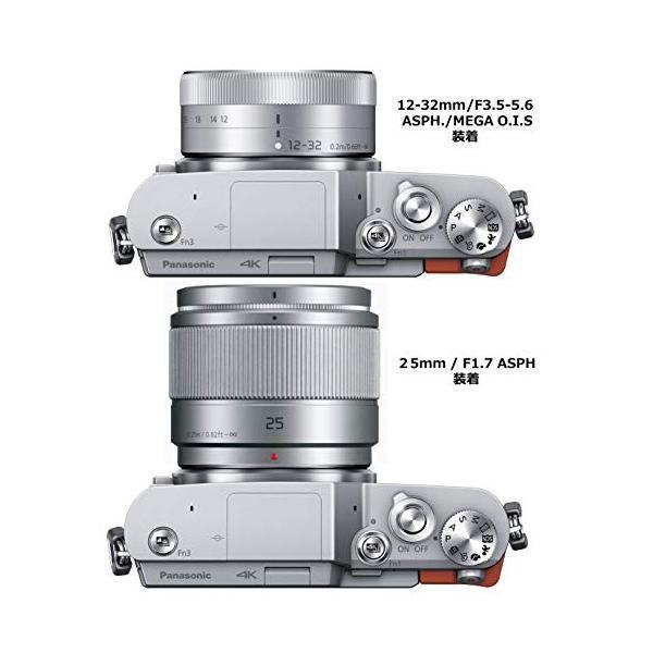 パナソニック ミラーレス一眼カメラ ルミックス GF9 ダブルズームレンズキット 標準ズームレンズ/単焦点レンズ付属 オレンジ DC-GF9W-D yodoya 03