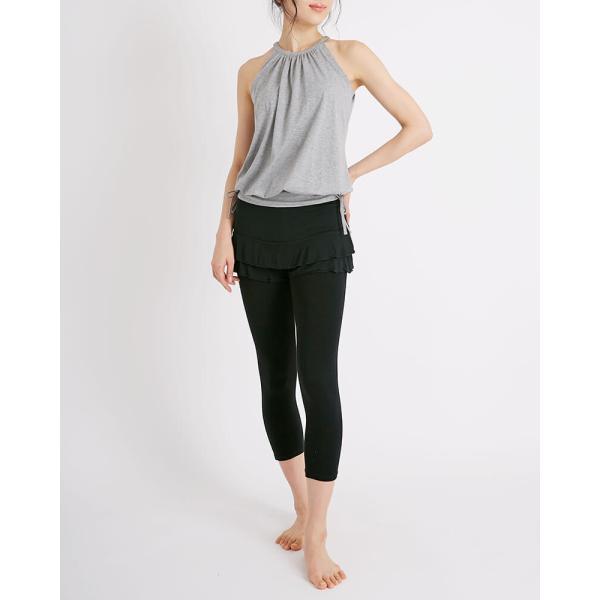 スリア SURIA ティアードショーツ ヨガウェア ヨガパンツ ヨガ パンツ スカート風 レディース 新作 ブランド|yoga-pi|09