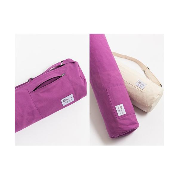 ヨガマット ケース バッグ suria スリア オーガニックコットンマットバッグ 6mm対応 送料無料|yoga-pi|03