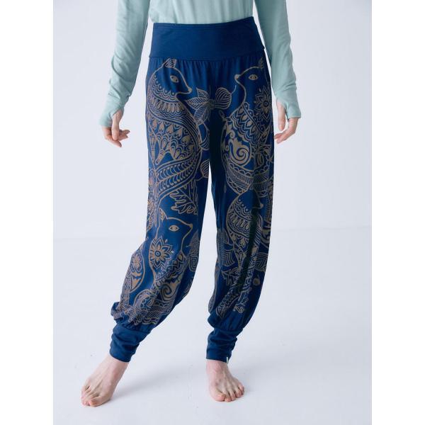 テジャス Tejas ヨガウェア ヨガパンツ tl71516-10 ガネーシャ avani-bottom-long ヨガ ブランド アラジンパンツ|yoga-pi|06