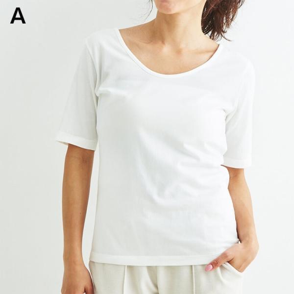 ヨギーサンクチュアリ ヨガウェア トップス オープンバックタイTシャツ yoggy sanctuary|yoga-pi|02