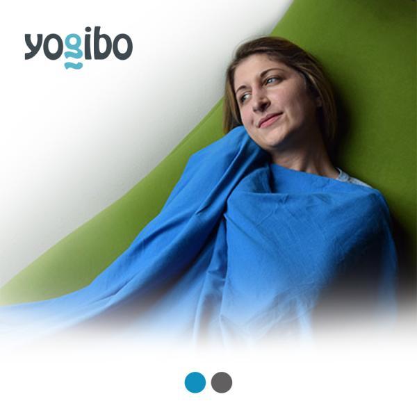 Yogibo Travel Blanket / ヨギボー トラベル ブランケット / 快適すぎて動けなくなる魔法のソファ / ひざ掛け|yogibo