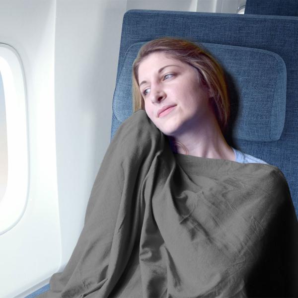 Yogibo Travel Blanket / ヨギボー トラベル ブランケット / 快適すぎて動けなくなる魔法のソファ / ひざ掛け|yogibo|04