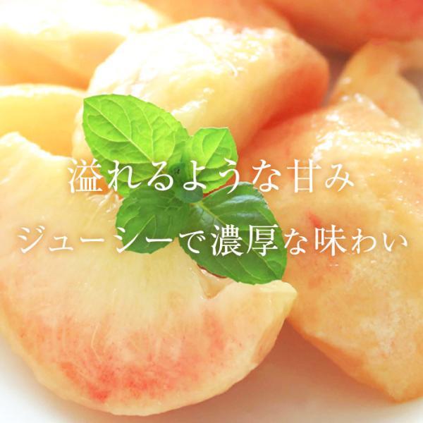 桃 福島 献上桃の郷 桑折町産 伊達果実もも 特秀品 約2.5kg 7〜9玉|yogmogg|09