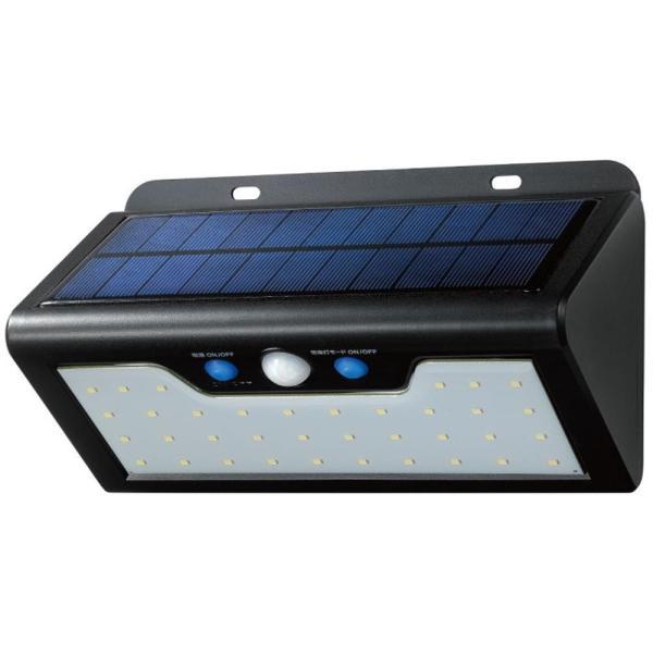 ELPA(エルパ) 屋外用 LEDセンサーウォールライト ソーラー発電式 電球色 ESL-K411SL(L)