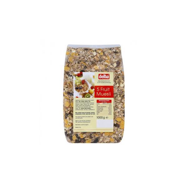 delba(デルバ) ファイブフルーツミューズリー 1kg×10個セット 送料無料