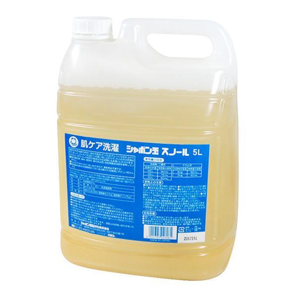 シャボン玉石けん シャボン玉スノール 液体タイプ 5L