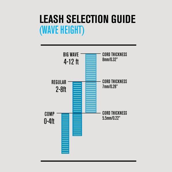 FCS リーシュコード 6' COMP ESSENTIAL SERIES LEASHES サーフィン ショートボード用 7カラー|yoko-nori|09