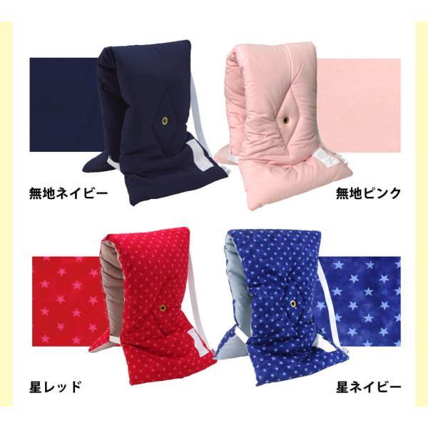 木綿タイプ 備えて安心、クッション兼用の防災ズキン(小) 日本製 10個以上のまとめ買いで値引きあり|yokohamashingu|05