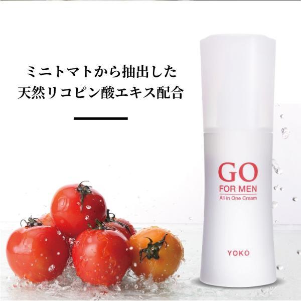 男性用化粧品 GO FOR MEN 80mL オールインワン 化粧水 スキンケア エイジングケア アフターシェービング  ギフト レッド 送料無料|yokojapan|15