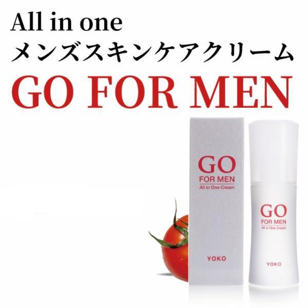 男性化粧品 スキンケア GO FOR MEN 30mL オールインワン メンズコスメ 化粧水 美容液 エイジングケア アフターシェービング 肌荒れ防止 送料無料 ポイント消化|yokojapan|16