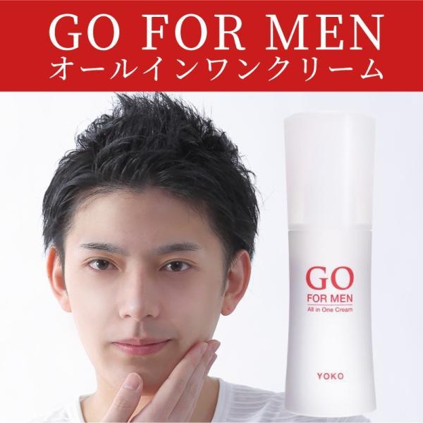 男性化粧品 スキンケア GO FOR MEN 30mL オールインワン メンズコスメ 化粧水 美容液 エイジングケア アフターシェービング 肌荒れ防止 送料無料 ポイント消化|yokojapan|19