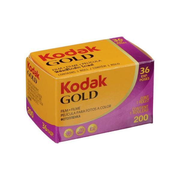 コダック GOLD(ゴールド)200 36枚撮り 単品 kodak film フイルム フィルム