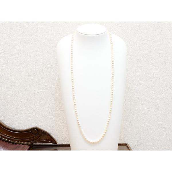 6.0m〜6.5mm あこや真珠 80cm ネックレス|yokota-pearl|02