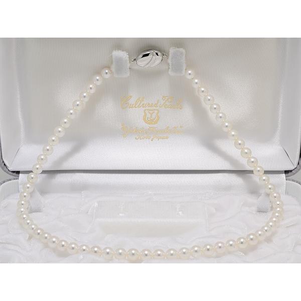 6.0m〜6.5mm あこや真珠 ネックレス|yokota-pearl