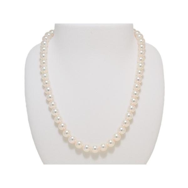 高品質 あこや真珠ネックレス8.0mm〜8.5mm イヤリング8mm 2点セット オーロラ天女鑑別書取得可能品質|yokota-pearl|02