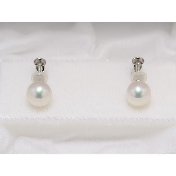 高品質 あこや真珠ネックレス8.0mm〜8.5mm イヤリング8mm 2点セット オーロラ天女鑑別書取得可能品質|yokota-pearl|03