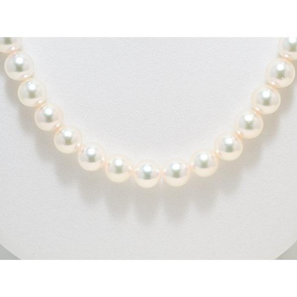 高品質 あこや真珠ネックレス8.0mm〜8.5mm イヤリング8mm 2点セット オーロラ天女鑑別書取得可能品質|yokota-pearl|05