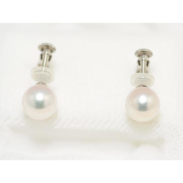 あこや真珠ネックレス オーロラ天女鑑別書つき 7.0mm〜7.5mm イヤリングまたはピアス7.6mm 2点セット|yokota-pearl|03