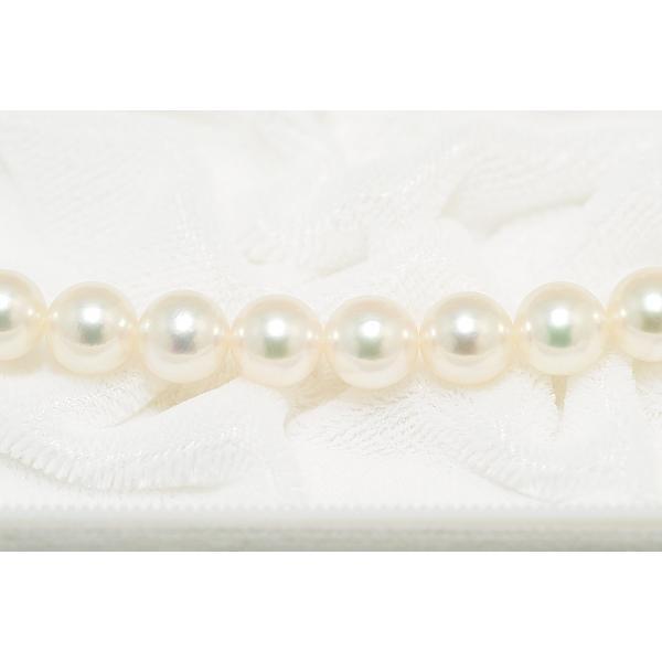 あこや真珠ネックレス オーロラ天女鑑別書つき 7.0mm〜7.5mm イヤリングまたはピアス7.6mm 2点セット|yokota-pearl|04