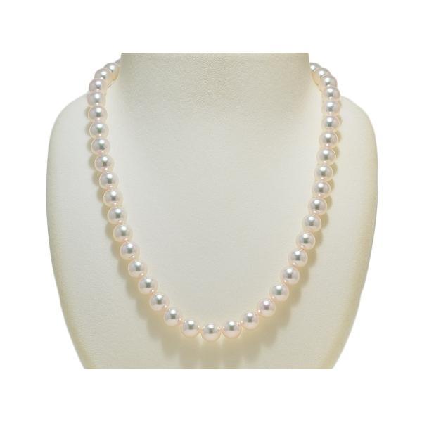 オーロラ天女鑑別書付き あこや真珠8.5mm〜9.0mmネックレス&8.7mmイヤリングまたはピアス2点セット|yokota-pearl|02