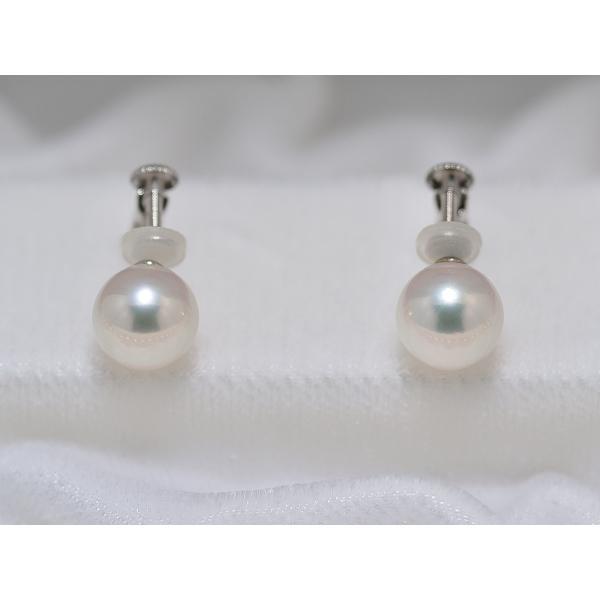 オーロラ天女鑑別書付き あこや真珠8.5mm〜9.0mmネックレス&8.7mmイヤリングまたはピアス2点セット|yokota-pearl|04