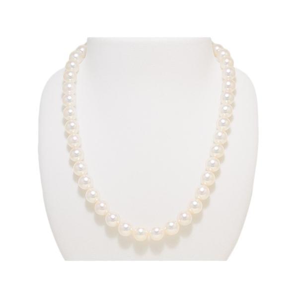 9.5mm〜10.0mm オーロラ天女鑑別書つき あこや真珠ネックレス イヤリング またはピアス 2点セット|yokota-pearl|02