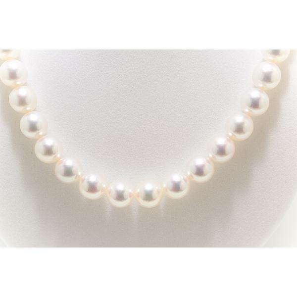 9.5mm〜10.0mm オーロラ天女鑑別書つき あこや真珠ネックレス イヤリング またはピアス 2点セット|yokota-pearl|04