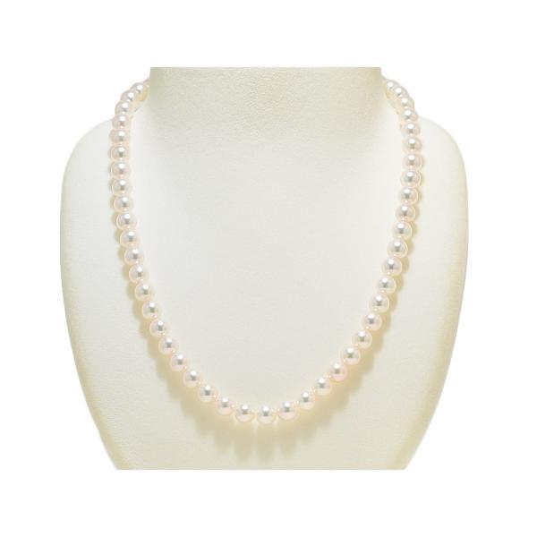 あこや真珠ネックレス オーロラ天女鑑別書つき 7.0mm〜7.5mm イヤリングまたはピアス7.6mm 2点セット|yokota-pearl|02