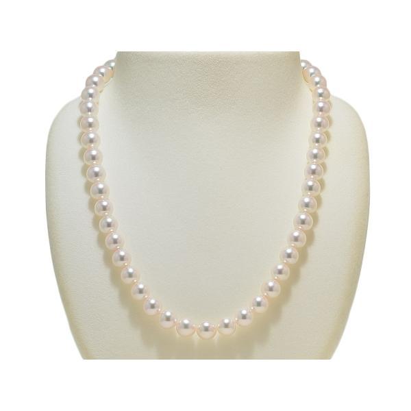 オーロラ天女鑑別書付き あこや真珠8.5mm〜9.0mmネックレス&8.6mmイヤリングまたはピアス2点セット|yokota-pearl|02