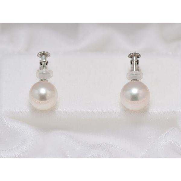 オーロラ天女鑑別書付き あこや真珠9.0mm〜9.5mmネックレス&9.1mmイヤリングまたはピアス2点セット|yokota-pearl|03