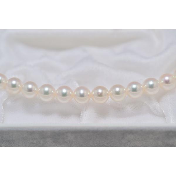 オーロラ天女鑑別書つき あこや真珠ネックレス 6.5mm〜7.0mm イヤリングまたはピアス7.2mm 2点セット|yokota-pearl|04