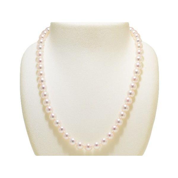 オーロラ花珠鑑別書つき あこや真珠ネックレス8.0mm〜8.5mm イヤリングまたはピアス2点セット|yokota-pearl|02